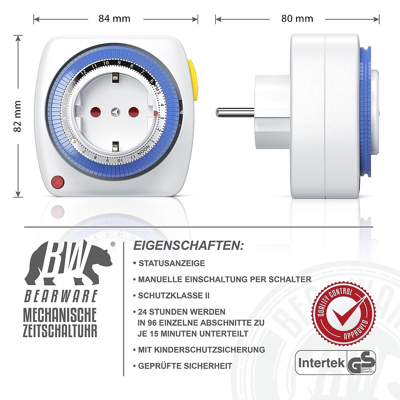 91EUsO1r1wL._SL1500_ Wunderbar Wie Funktioniert Eine Mechanische Zeitschaltuhr Dekorationen