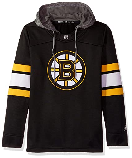 Boston Bruins Women s NHL Adidas  quot Crewdie quot  Pullover Hooded  Sweatshirt 1a45daf81