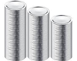 150-Count, Regular Mouth Canning Lids for Ball, Kerr Jars - Split-Type Metal Mason Jar Lids for Canning - Food Grade Material