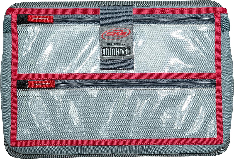 SKB Cases iSeries Storage Organizer iSeries 3i-1309-6 Think Tank Designed Lid Laptop Organizer, Gray (3i-LO1309-TT)