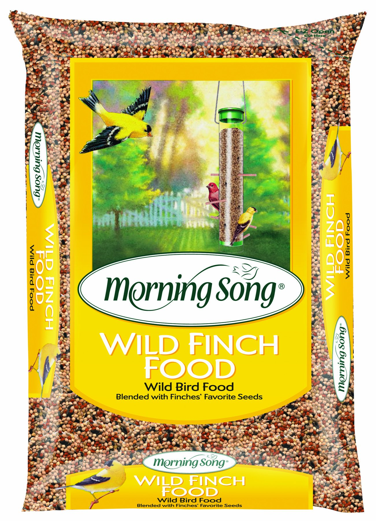 Morning Song 12005 Wild Finch Wild Bird Food Bag, 8-Pound by Morning Song