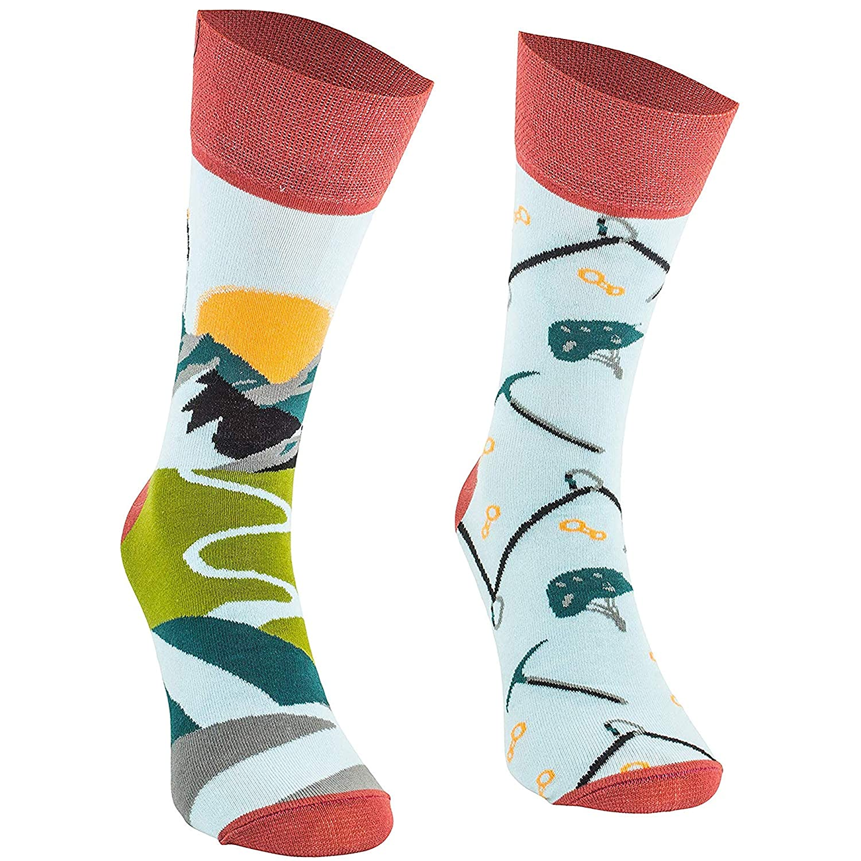 Bunte Funny Socks f/ür Damen 3 Paar lustige Socken Unisex Herren und Kinder aus Baumwolle mit verschiedenen Mustern und Motiven Comodo