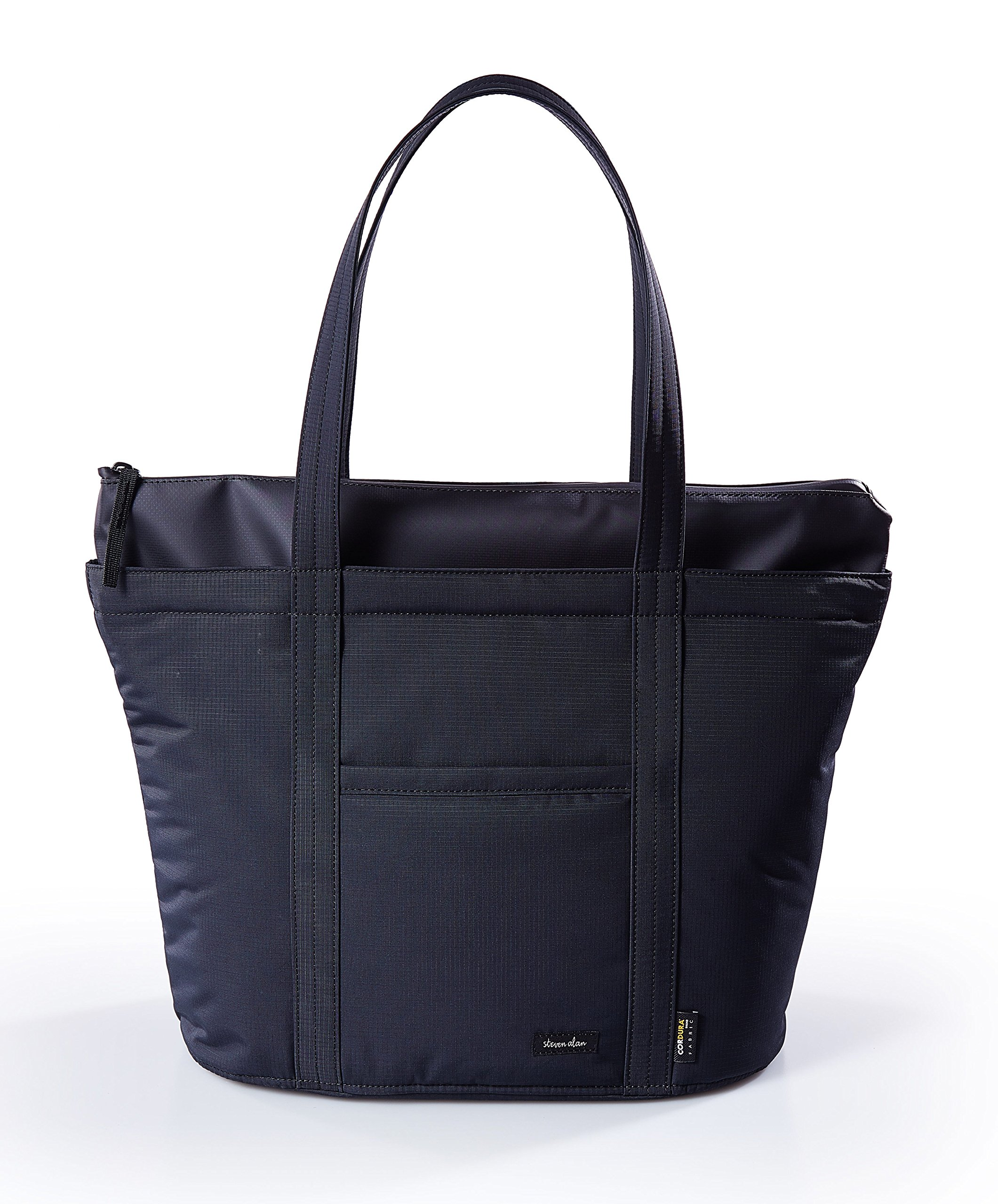 Steven Alan Waterproof Tote Bag Mateo East West Tote for Men SAM204 Black