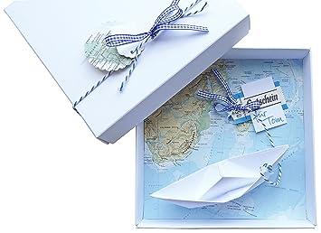 Amazon De Geldgeschenk Verpackung Reise Gutschein Schiff Fur
