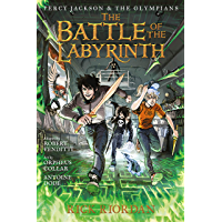 Battle of the Labyrinth: The Graphic Novel, The (Percy Jackson and the Olympians Book 4)