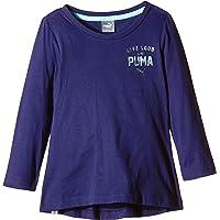 Puma Fun Ind Graphic Long Sleeve tee–Camiseta