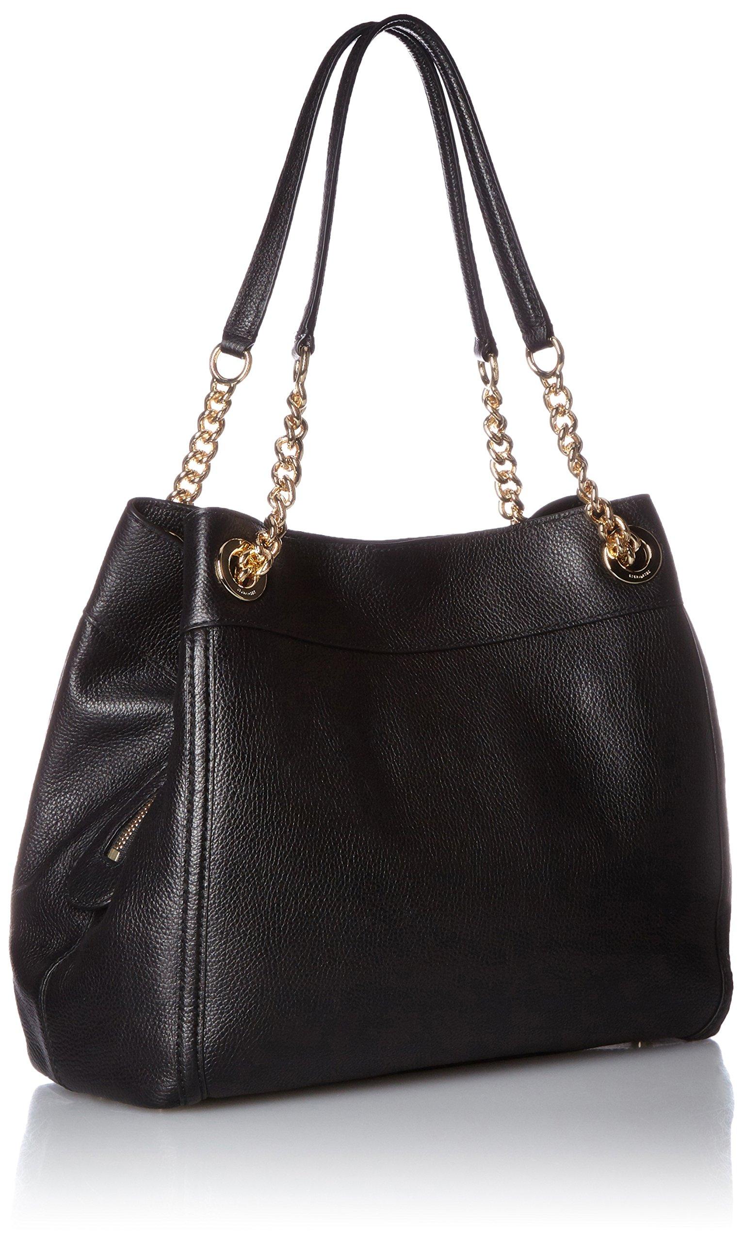 COACH Women's Turnlock Edie LI/Black Shoulder Bag by Coach (Image #2)