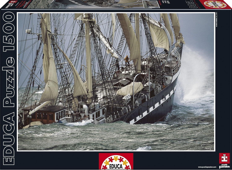 Puzzles Educa - Almuerzo York, puzzle de 1500 piezas (16009) Educa Borrás SAU