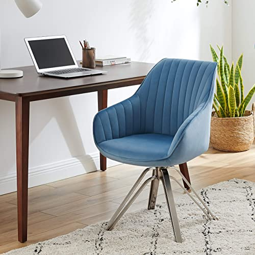 Volans Mid Century Modern Swivel Accent Desk Chair