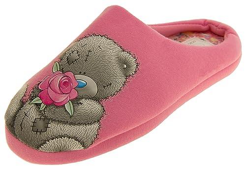 Mujeres me To You Zapatillas Color De Rosa Muleta Textil ...