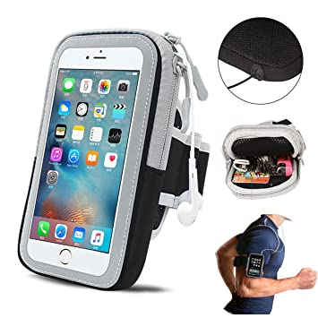 Mobile Phone Accessories Sport Running Arm Bag Case Cover Fitness Armband Waterproof Mobile Phone Holder Spiderman Outdoor Phone Pouch Belt Gym Wristband Armbands