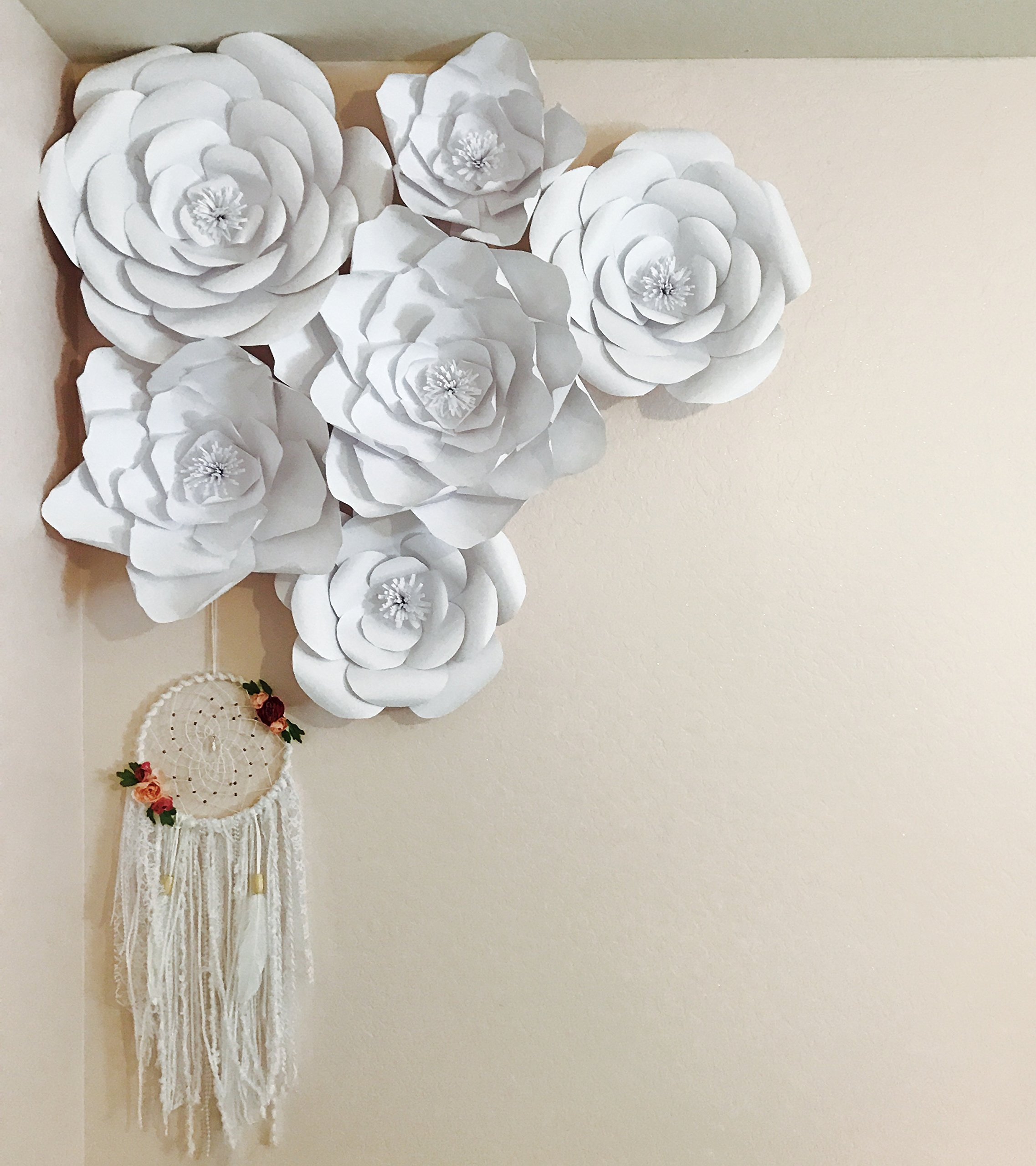 Paper flower template kit make your own paper flowers paper paper flower template kit make your own paper flowers paper flowers decoration make unlimited flowers diy do it yourself make all sizes rose mightylinksfo