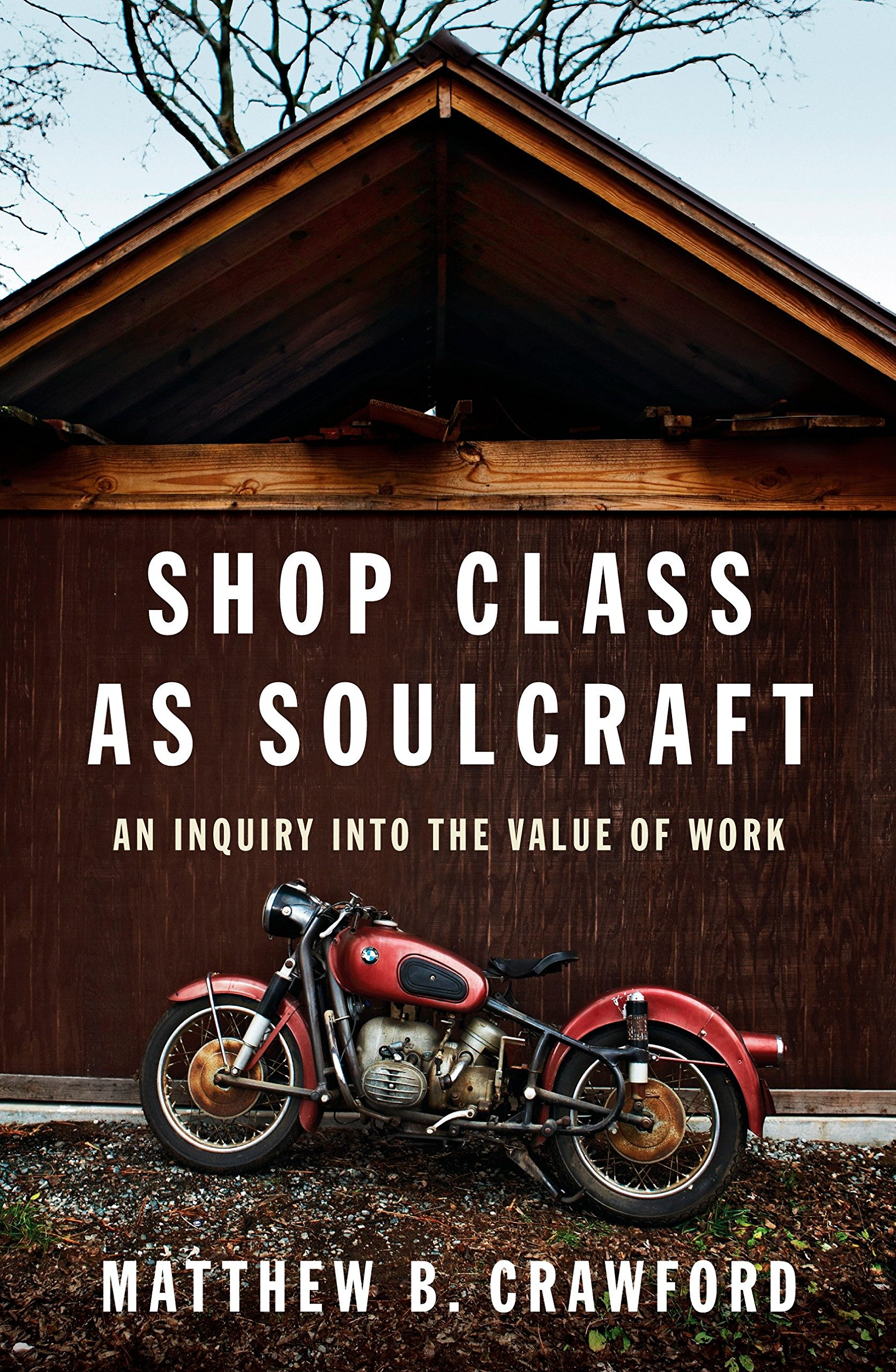 Shop Class as Soulcraft: An Inquiry into the Value of Work book cover