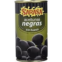 Sarasa Aceitunas Negras Cacereñas sin Hueso - Paquete