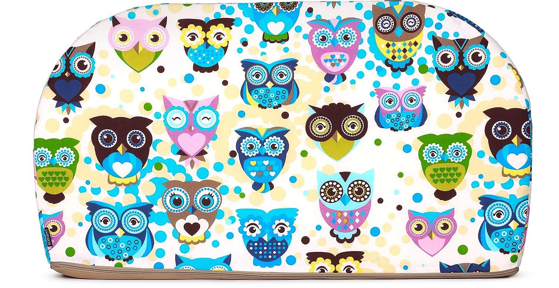 Ecru//Owls 108 x 82 x 48 cm Ladeheid enfant Canap/é lit Canap/é pour enfant avec fonction Late1002
