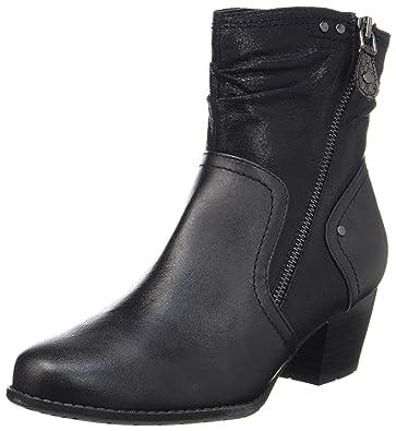 Softline Damen 25362 Stiefel, Schwarz (Black), 40 EU