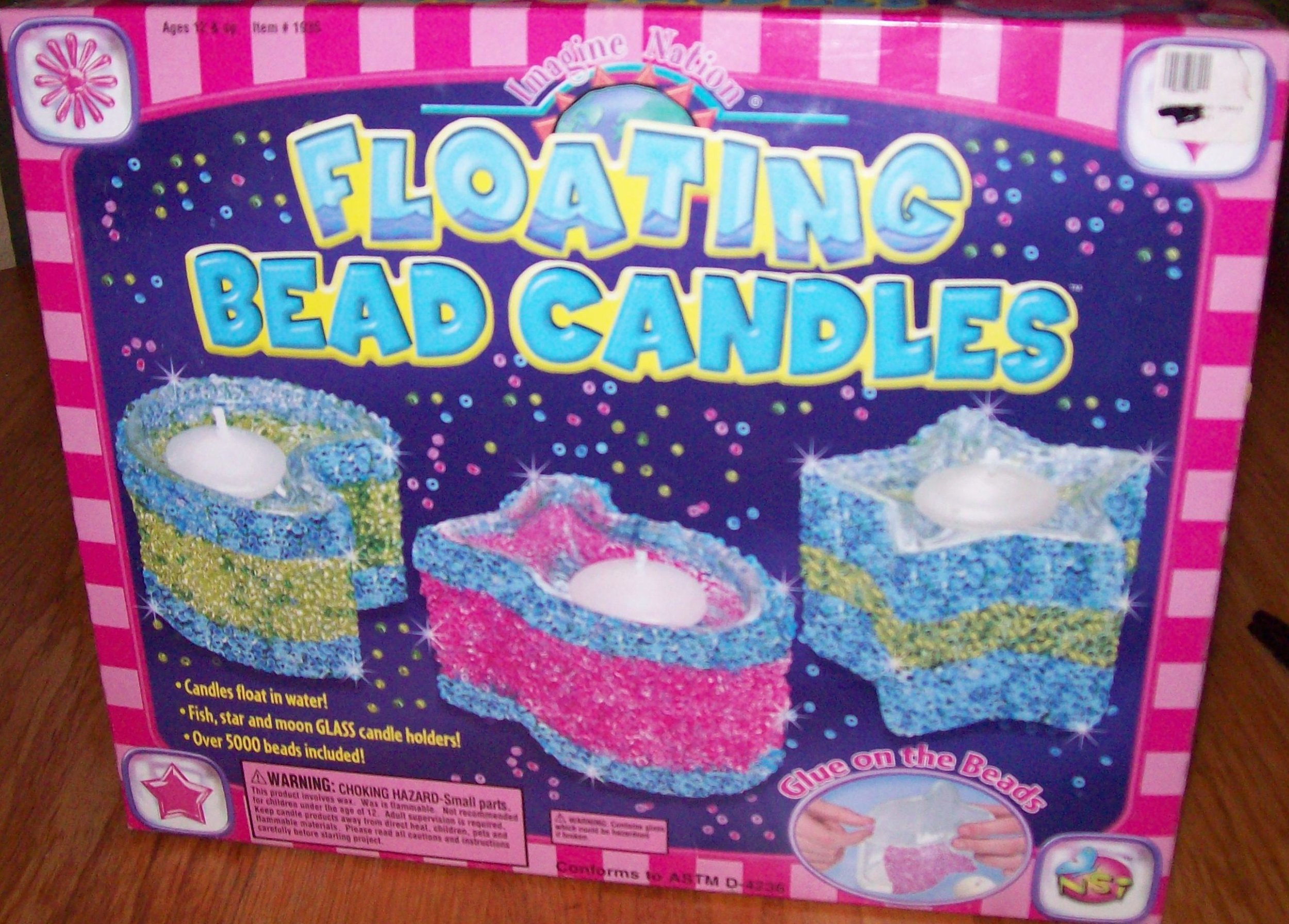 Floating Bead Candles Kit