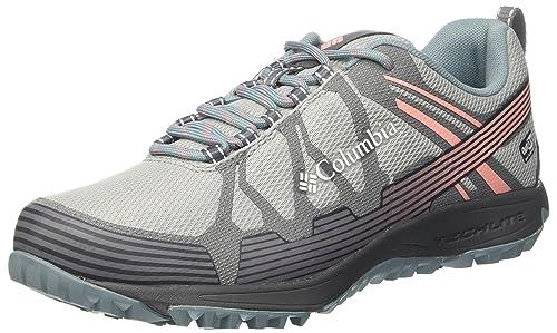 Columbia CONSPIRACY V OUTDRY - Hiking shoes - earl grey/sorbet yzpXqH6AX