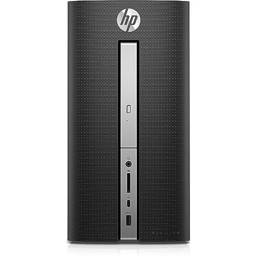 [Ancien Modèle] HP Pavilion 570-p015nf PC de bureau Noir (Intel Core i5, 8 Go de RAM, 1 To, Nvidia GeForce GTX 1050, Windows 10)