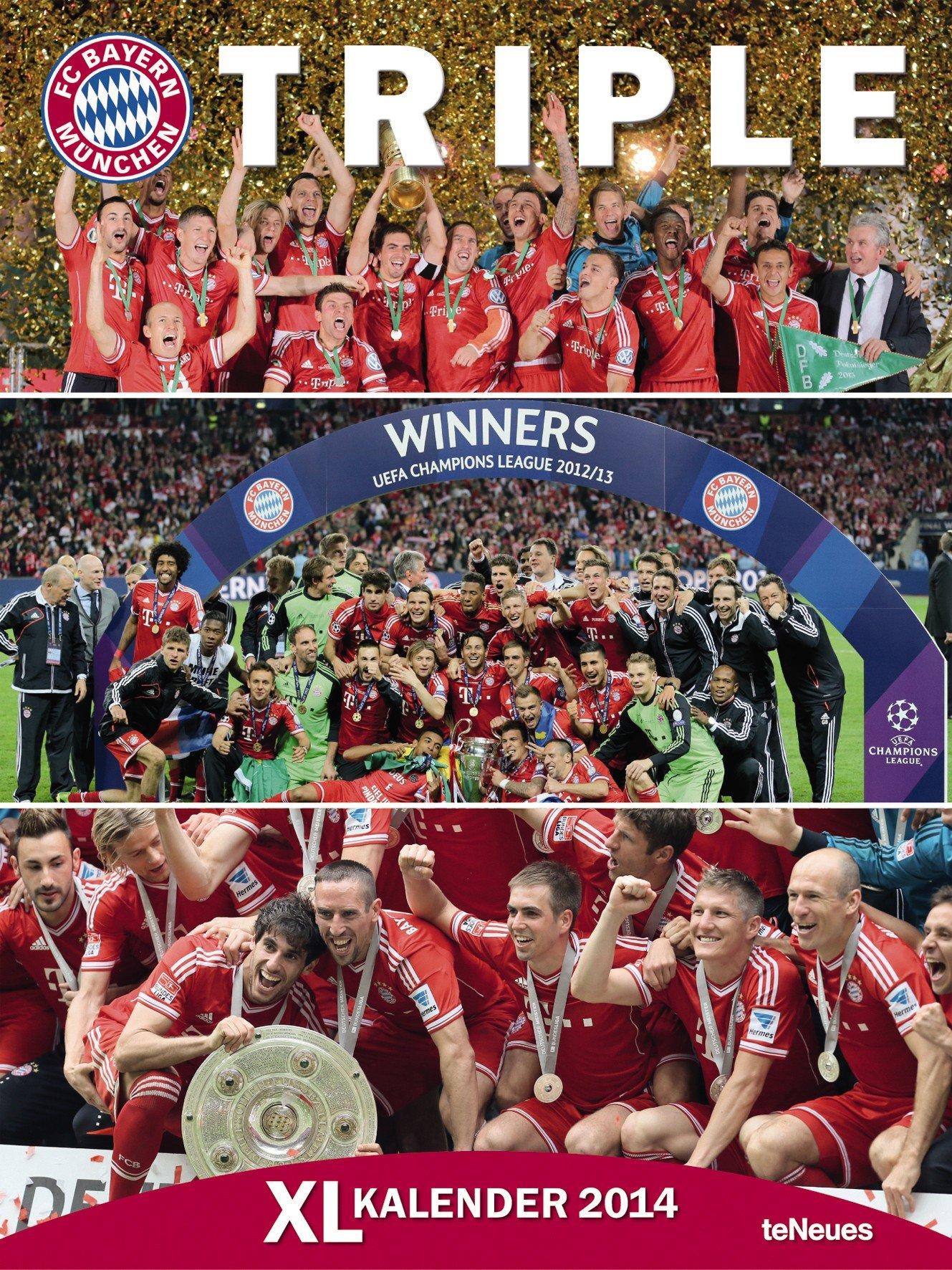 Bayern München Posterkalender 2014
