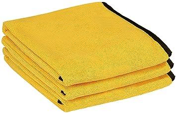 Utopía toallas profesional grado Premium toalla de microfibra (3 unidades, 16 x 24 cm