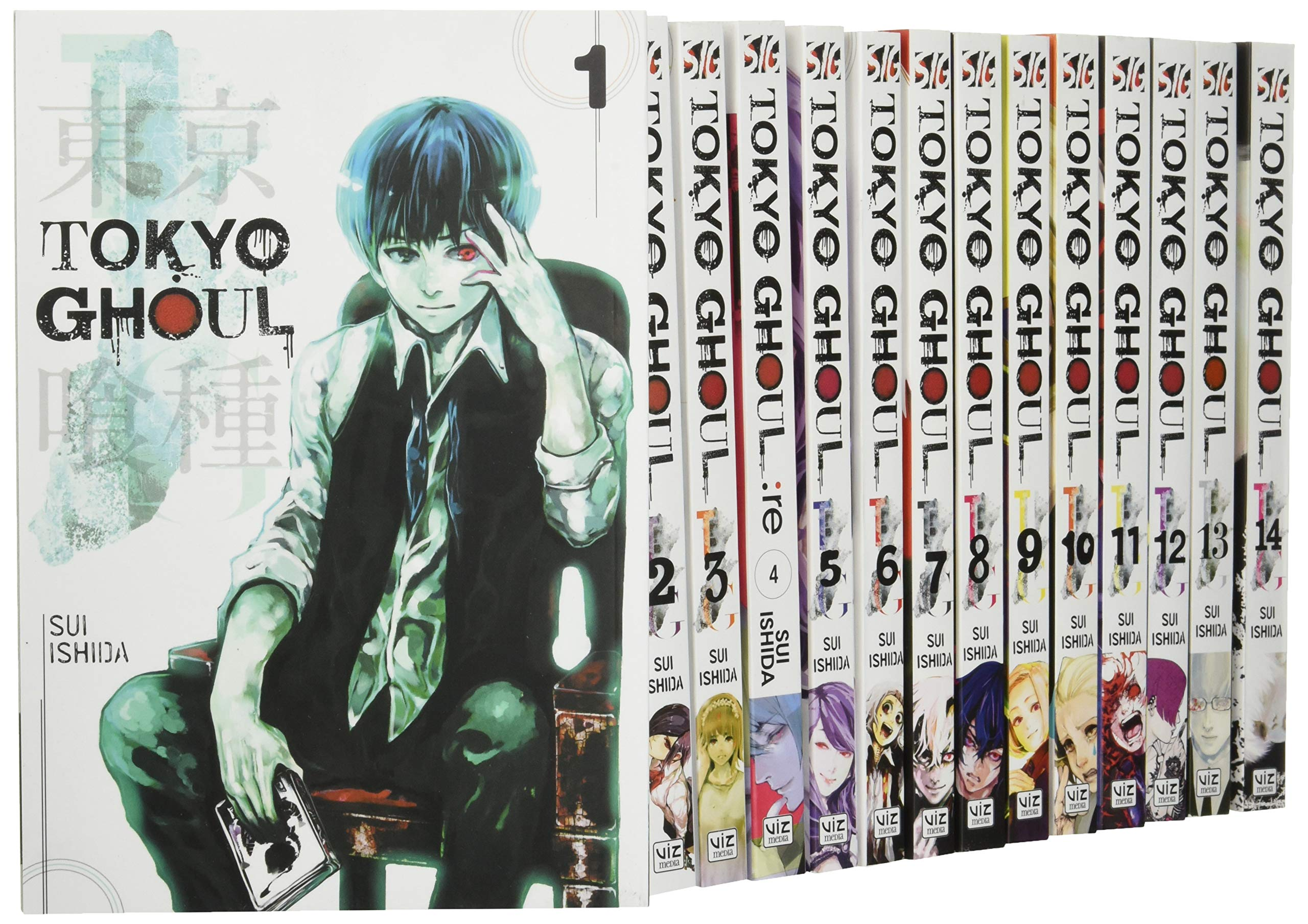 Tokyo Ghoul Volume 1-14 Collection 14 Books Set: Amazon co