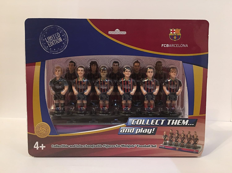 Figuras de equipo para futbolín Minigols - 5BAR-1314-2, Barcelona: Amazon.es: Deportes y aire libre