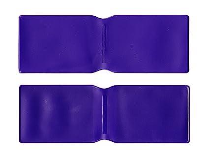 10 x de plástico Oyster tipo cartera/soporte/diseño