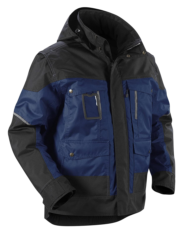 Blakläder 488619778999s Kapuzenjacke Winter Größe S marineblau blau/schwarz