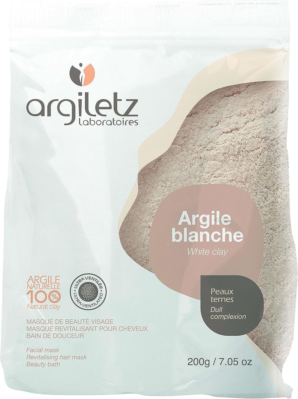 Argiletz White Clay Mask 200g ultra ventilada