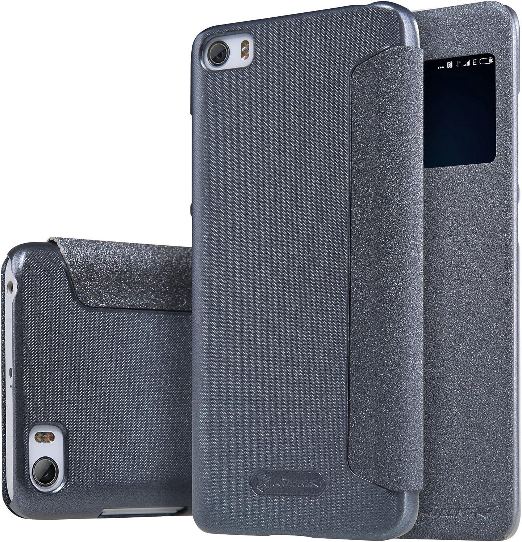MYLB PU funda case cubierta cover para Xiaomi Mi5 smartphone (gris): Amazon.es: Electrónica