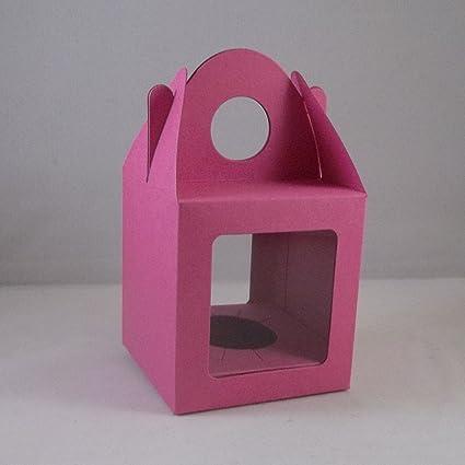 10 x medio Cerise modessimple/store/del mollete de la magdalena cajas con 2