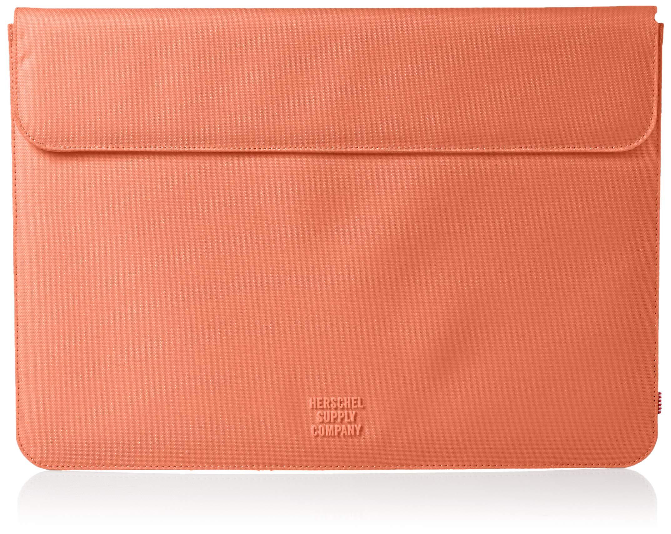 Herschel Supply Co. Men's Spokane Sleeve for 15 inch MacBook, fresh salmon, One Size