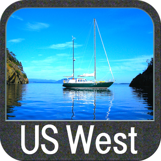 US West GPS Map Navigator - Stores The Target In Us