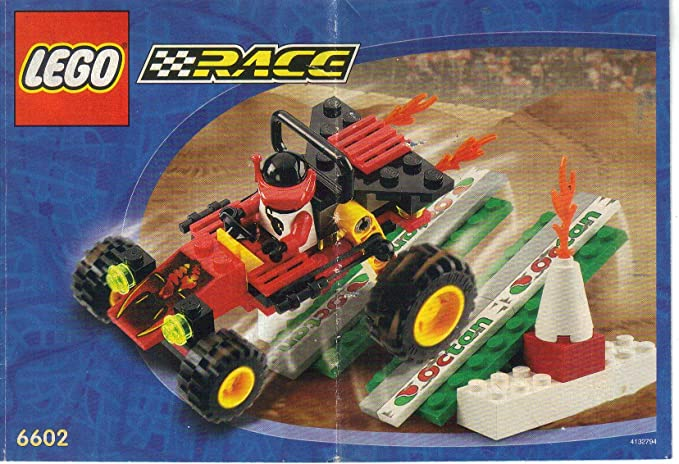 Amazon Owners Manual Instruction Booklet For Lego Race