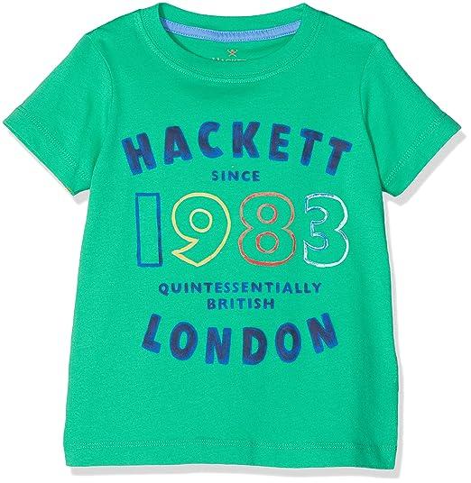 Hackett London Amr Mult SS T Camiseta para Ni/ños