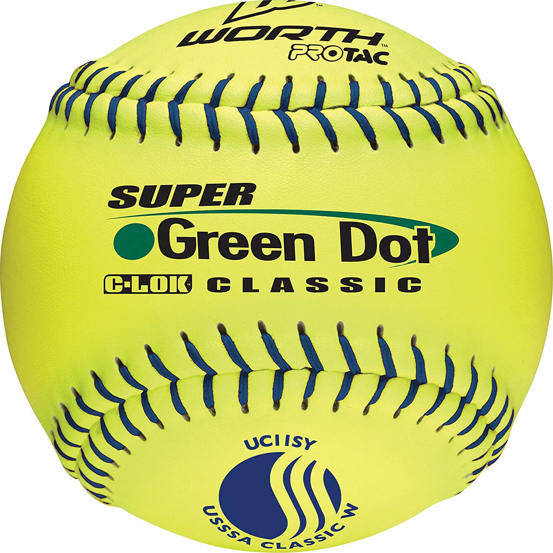 Sport Supply Group Group 1265781 Super Green Dot Softball- Green Classic Dot B001QTL89Q, くつろぎ堂本舗:2b941180 --- sayselfiee.com