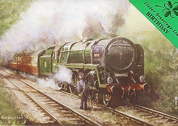Feliz cumpleaños - Oliver Cromwell - Locomotora de vapor ...