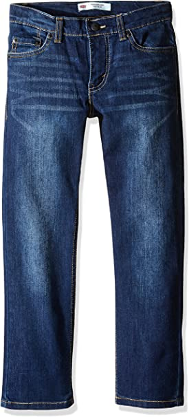 Levi's Boys' Big 511 Slim Fit Performance Jeans, Resilient Blue, 16