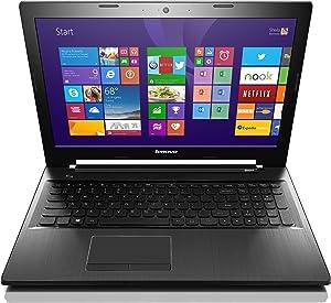 Lenovo Z50 80EC0087US Laptop (Windows 8.1, AMD Kaveri A10-7300 1.9 GHz Processor, 15.6 inches Display, SSD: 500 GB, RAM: 8 GB DDR3) Black