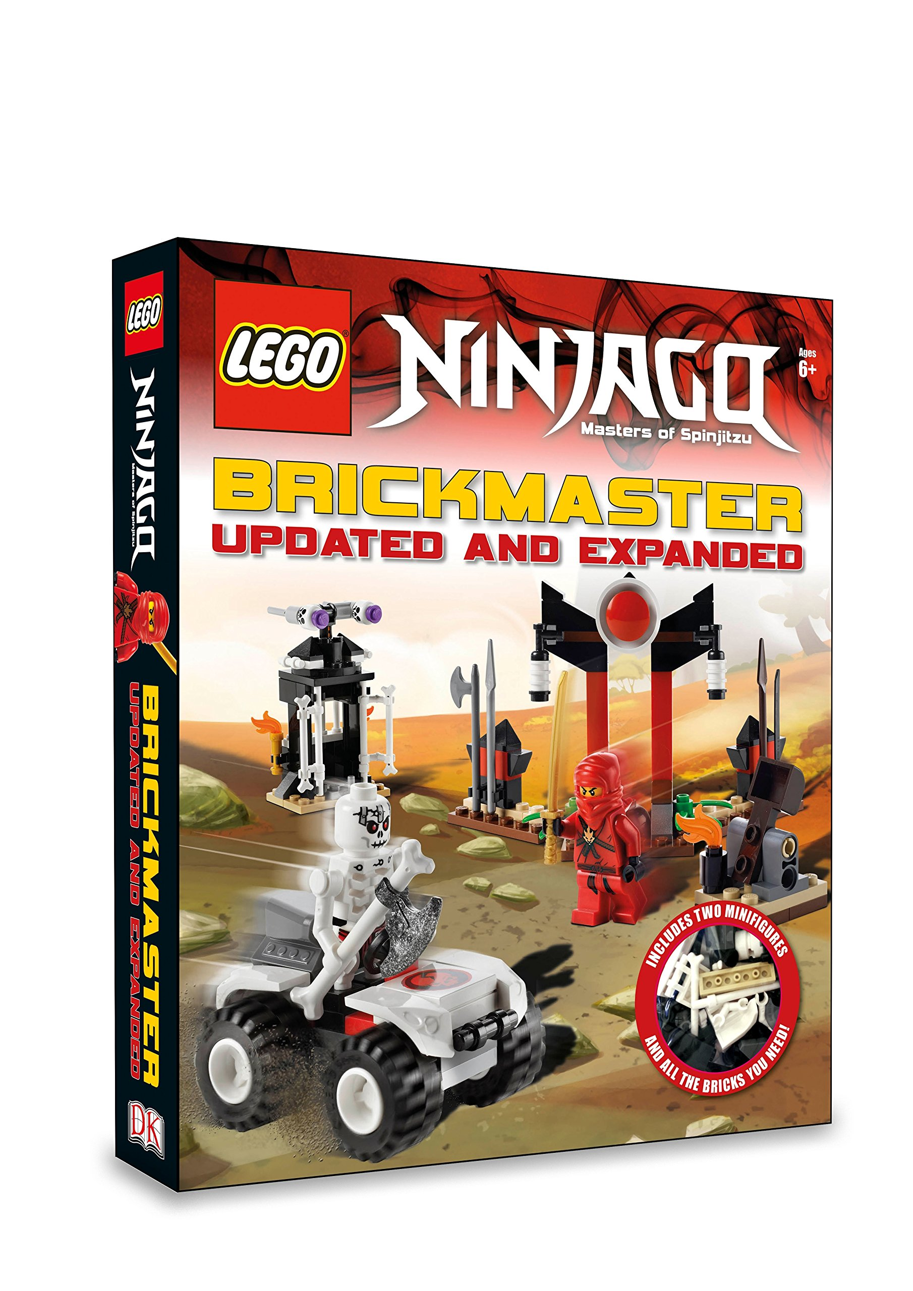 LEGO® Ninjago Brickmaster Updated and Expanded Lego Brickmaster: Amazon.de:  Last, Shari: Fremdsprachige Bücher