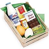 Erzi Sortiment Backzutaten, Spielzeug-Lebensmittel, Kaufladenzubehör