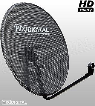 1 m de malla de alta calidad Accesorios antena parabólica con soporte - 100 cm