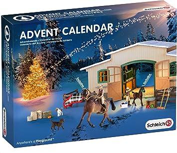Weihnachtskalender Schleich Pferde.Schleich 97020 Adventskalender Pferde Weihnacht