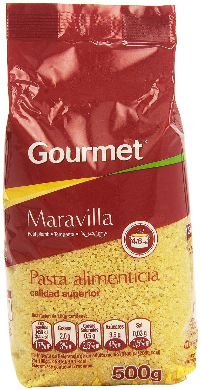 Gourmet - Maravilla - Pasta alimenticia - 500 g: Amazon.es: Alimentación y bebidas