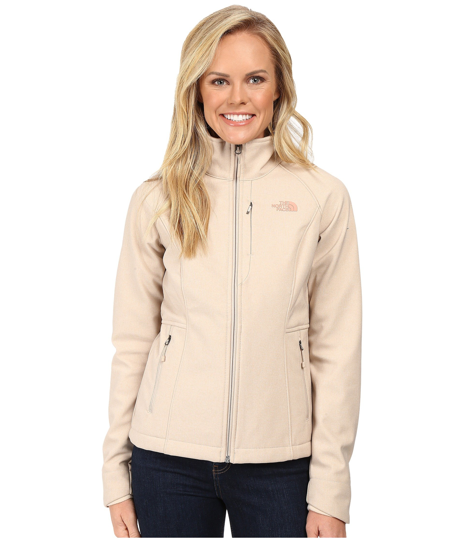 The North Face Women's Apex Bionic 2 Jacket (Large, Doe Skin Brown)