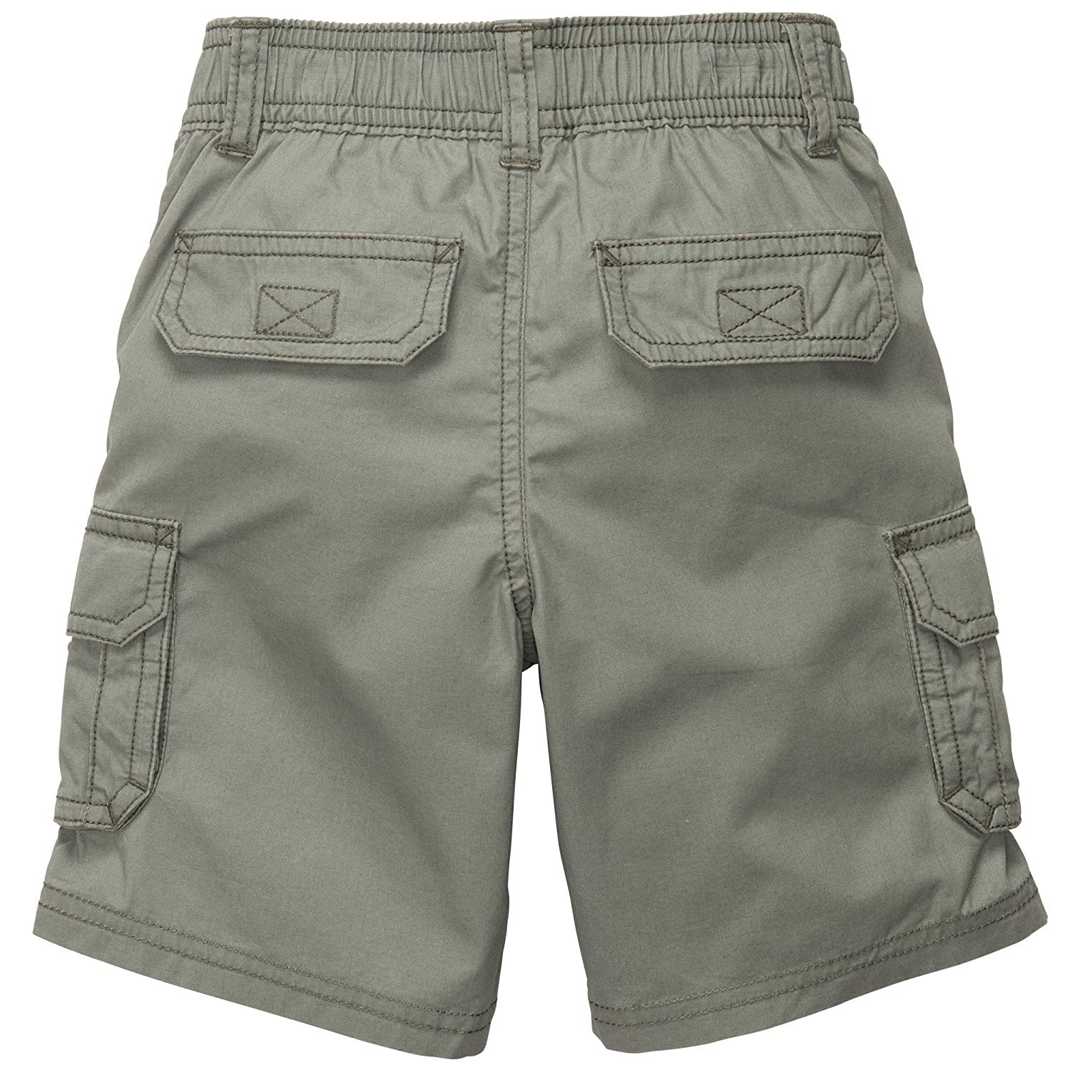 Carters Little Boys Sea Explorer Pull-on Cargo Shorts Grey
