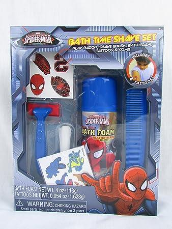 Spider Man Bath Time Shave Set. Amazon com  Spider Man Bath Time Shave Set  Health  amp  Personal Care