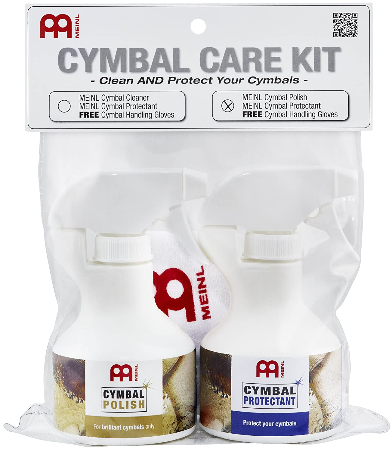 Meinl Cymbals MCCK-MCP Cymbal Care Kit Meinl USA L.C.