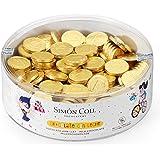 Moneda de chocolate con leche 28 mm Bolsa 300 unid.